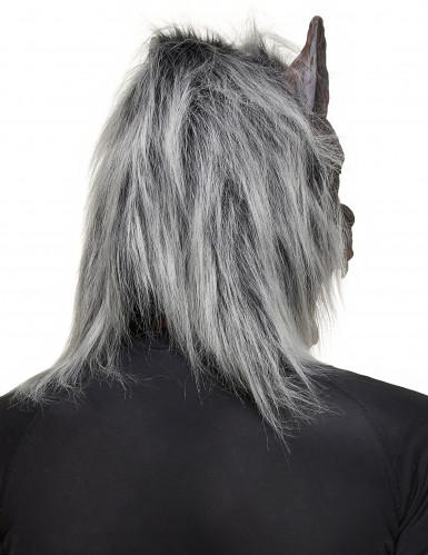 Maschera da lupo mannaro adulto Halloween-1