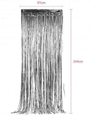 Tenda scintillante Argento-1