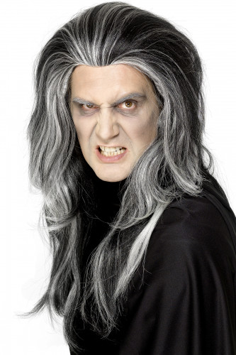 Parrucca da vampiro adulto Halloween