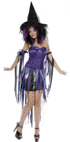 Costume da strega iridescente donna Halloween