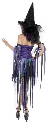 Costume da strega iridescente donna Halloween-1