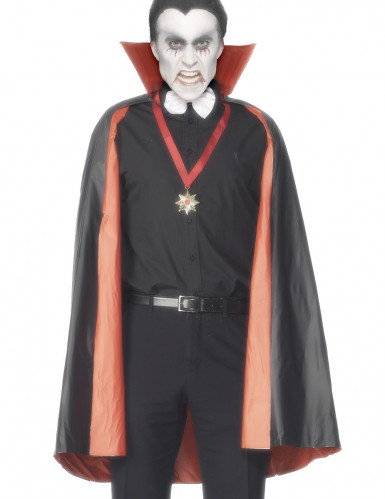 Mantello vampiro reversibile uomo Halloween