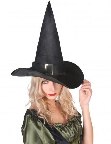 Cappello da strega in velluto donna Halloween