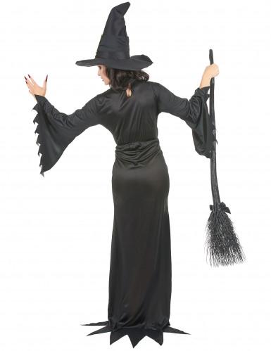 Costume da strega con fibbie per donna-2