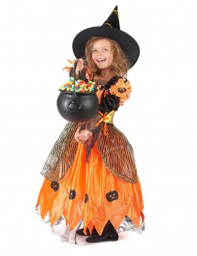 Costume strega per bambina Halloween-1