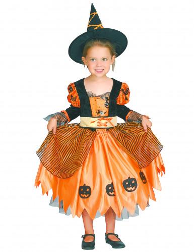 Costume strega per bambina Halloween-3