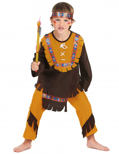 Costume indiano cacciatore bambino