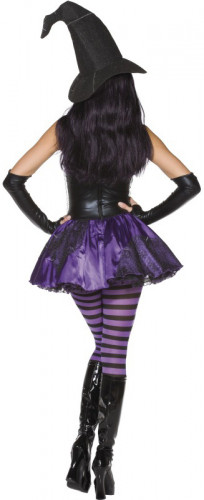 Costume strega sexy donna Halloween-1