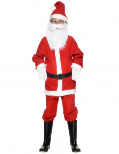 Descrizione Di Babbo Natale Per Bambini.Costume Da Babbo Natale Con Cintura Per Bambino Costumi Bambini E Vestiti Di Carnevale Online Vegaoo