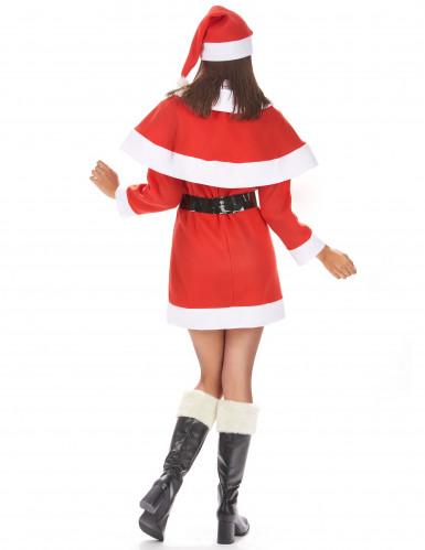 Costume da Mamma Natale corto per donna-2