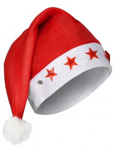 Berretto luminoso da Babbo Natale