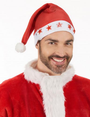 Berretto luminoso da Babbo Natale-2