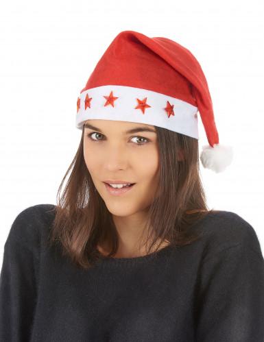 Berretto luminoso da Babbo Natale-1