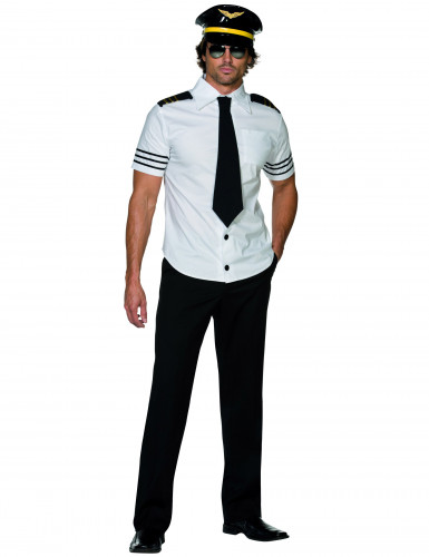 Costume pilota di aereo uomo