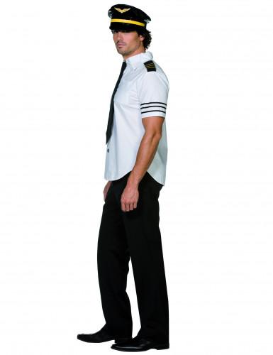 Costume pilota di aereo uomo-1