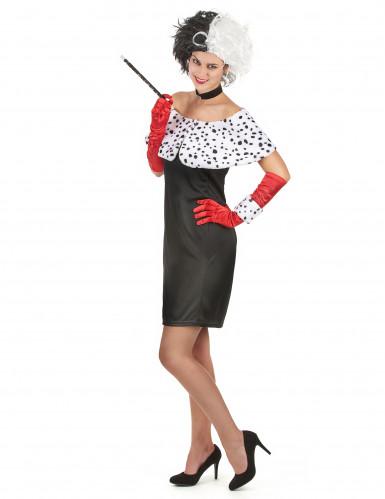 Costume Crudelia sexy donna-1