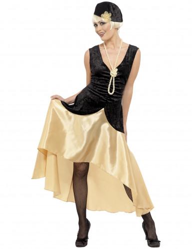 Costume Charleston donna con collana