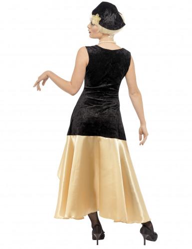Costume Charleston donna con collana-2