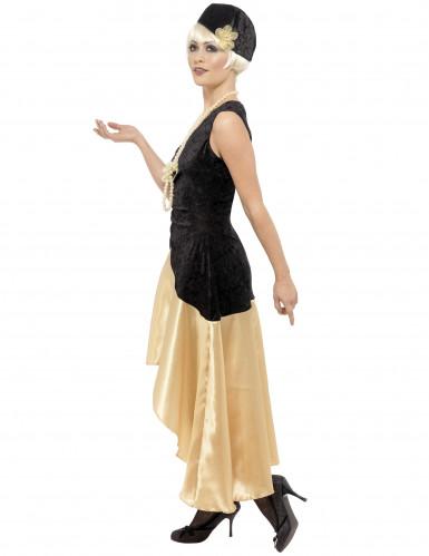 Costume Charleston donna con collana-1
