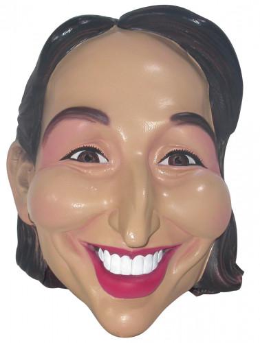 Maschera da Ségolène Royal adulto