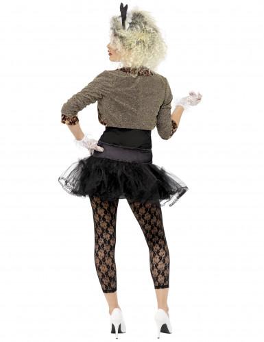Costume anni 80 per donna con fiocco-2