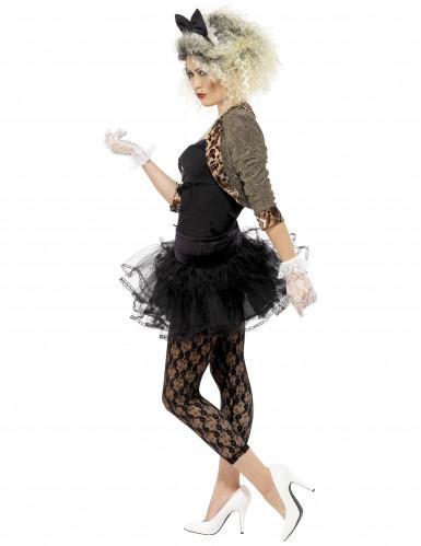 Costume anni 80 per donna con fiocco-1