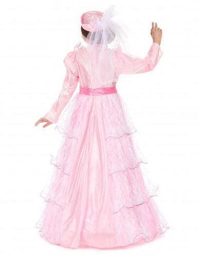 Costume principessa rosa per ragazza-2