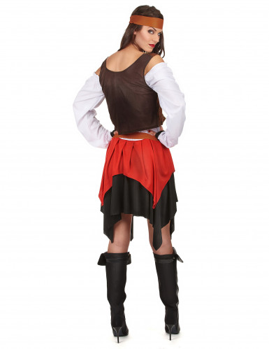 Costume da pirata con corpetto per donna-2