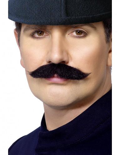 Baffi da agente di polizia inglese adulto