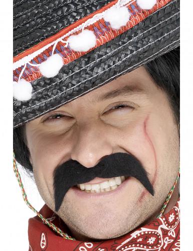 Baffi da bandito messicano per adulto