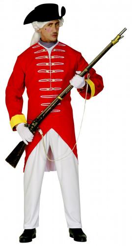 Costume da soldato di reggimento Britannico per adulto