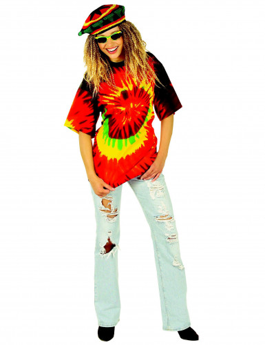 Maglietta rasta hippy adulto-1