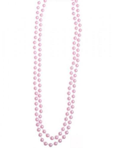 Collana di perle rosa