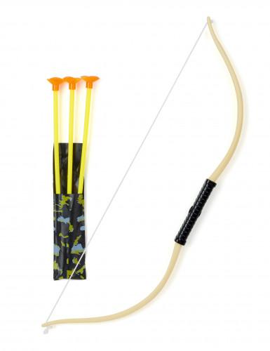 Arco con 3 frecce per bambini