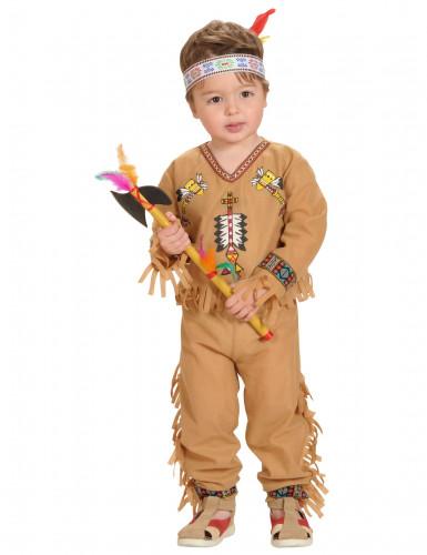 Costume da indiano neonato