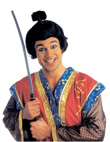 Parrucca corta da samurai uomo