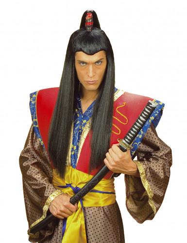 Parrucca samurai da uomo