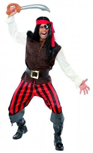 Costume da pirata folle per uomo