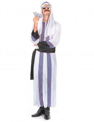 Costume sceicco arabo uomo