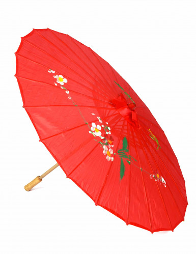 Ombrello cinese rosso