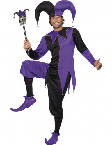Costume buffone medievale uomo