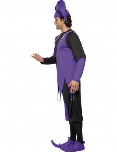 Costume buffone medievale uomo-1