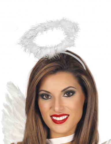 Cerchietto aureola angelo