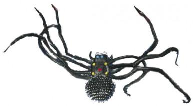 Ragno nero gigante Halloween