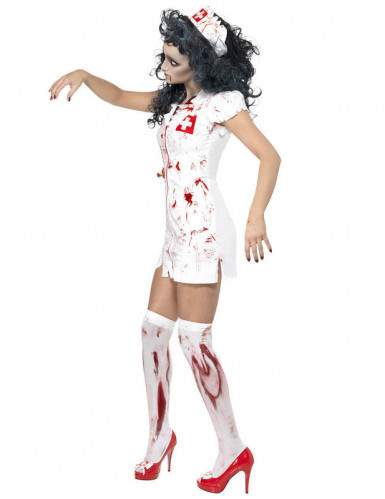 Costume infermiera zombie donna Halloween-1