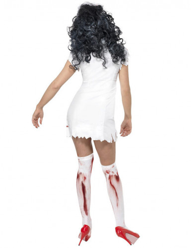 Costume infermiera zombie donna Halloween-2