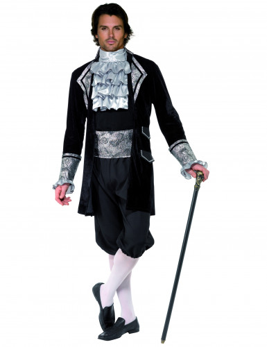 Costume vampiro barocco uomo Halloween