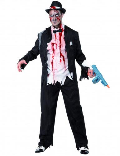 Costume gangster Charleston zombie uomo Halloween