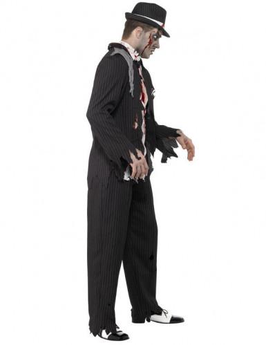 Costume gangster Charleston zombie uomo Halloween-1