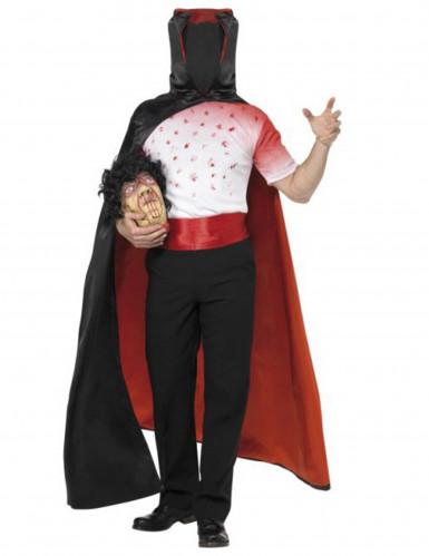 Costume vampiro senza testa per Halloween